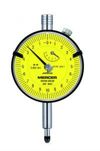 Mercer Dial Gauge Ø58mm, 0.002mm