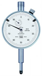 Tesa Dial Gauge Ø57mm, 0.01mm